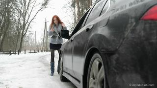 Русское порно: The Red Fox & Yuliya - Winter Rendezvo