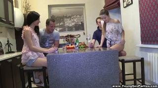 Русское порно: Taissia Shanti YoungSexParties Taya And Lina
